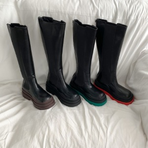 449 black / brown / green / red